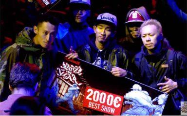 日本がダントツでベストショー最多受賞(9度目)!BOTY 2013