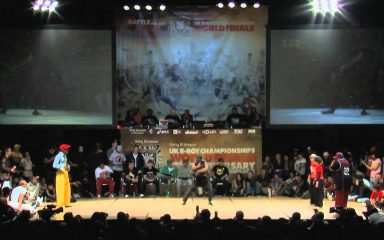日本「Bitterbox Sisters」準優勝!UK B-BOY 2010 LOCKIN'