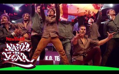 スペインの情熱的ダンスがベストショー!BOTY 2015