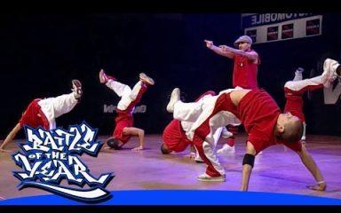 イタリアが初のベストショー獲得!「Break the Funk」BOTY 2004