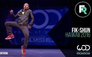 Dubstepに完璧な音ハメ!WOD Hawaii 2016 「Fik-Shun」