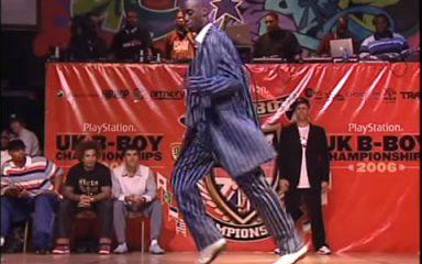 アメリカ「J-Smooth」がPOPPIN'部門優勝!UK B-BOY 2006