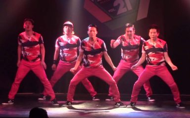 JDD第19回大会3位!「69凛」の楽しいロックダンス!
