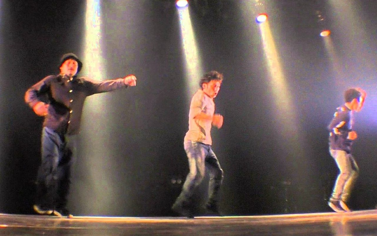 JDD常連!「GLASS HOPPER」のハウスダンス!
