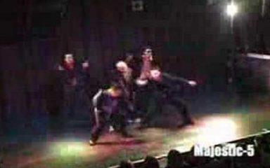 JDD第11回大会3位!「Majestic 5」のロックダンス!