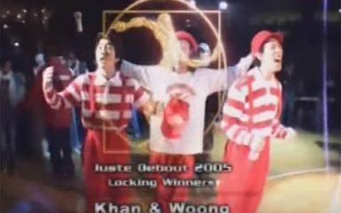 記念すべきLock'n部門初優勝は韓国!JUSTE DEBOUT 2005
