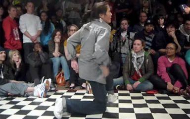 POPPIN'部門初の女性ダンサー優勝!UK B-BOY 2009