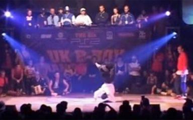 デンマークの「Sonic」がソロバトル初優勝!UK B-BOY 2001