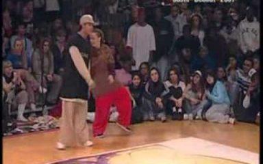 女性ダンサーSTEPHANIEのキレキレダンス!JUSTE DEBOUT 2007