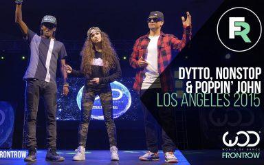 最高の3人が組んだ神業ポッピング!World of Dance 2015