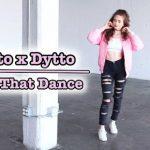 期間限定!今だけ2倍!Dytto×Dyttoのポッピングダンス!