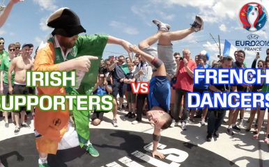 ダンスに国境なし!敵も味方も一緒に踊ろう!EURO 2016
