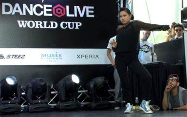 IBUKIがキレキレのダンスで5-0の圧勝!DANCE@LIVE2013