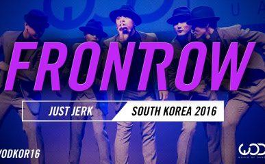 スーツでキメてるJUST JERKのジャズダンス!WOD 2016 韓国