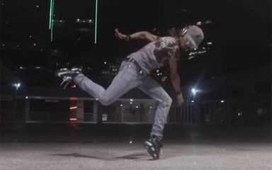 Marquese Scottの新作ダンス!夜の街で静かに踊ってみた!