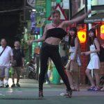 SDK 2015 waackingチャンピオン!Chrissy Chouの街中ダンス!