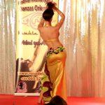 妖艶な後ろ姿にノックアウト!Ana Siscarのベリーダンス!