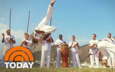 オリンピック開催でブラジルの伝統舞踊カポエイラを紹介!