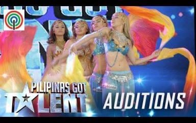 可愛らしい女性4人のベリーダンス!Pilipinas Got Talent