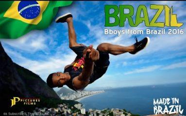 ブレイキン大国ブラジルを代表するB-Boy達のヤバすぎるスキル!
