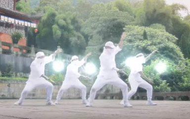 チャクラか?螺旋丸か?Kinjazの映像とダンスがCOOL!