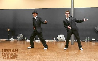 Red Bullショーケースを彷彿させるHilty & Boschのロックダンス!