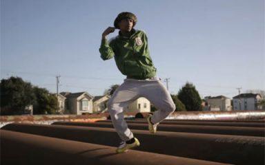 伝説のクルー「TURF FEINZ」 のターフダンス!in West Oakland!