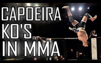 これがカポエイラの実力だ!総合格闘技MMAでKO連発!