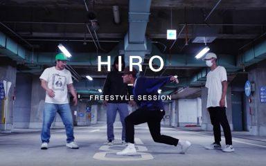 Quick CrewがハウスダンサーHiroとフリースタイルセッション!
