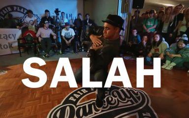 Salahのティッシュを使ったパフォーマンスがAamazing!