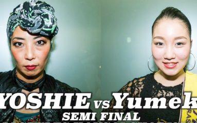 曲への適応力が半端ない!YOSHIE vs Yumeki DANCE@LIVE