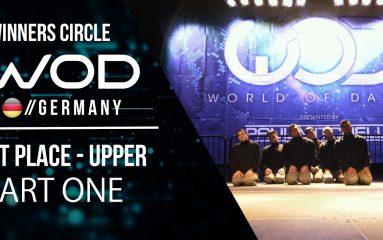 なんと優勝チームの曲は「山崎ハコ」WODドイツ2017