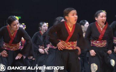 高校ダンス部の頂点は大阪府立堺西高等学校!storm crew