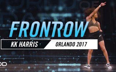 """リズム感の塊!Kaelynn """"KK"""" Harris WOD Orlando 2017"""