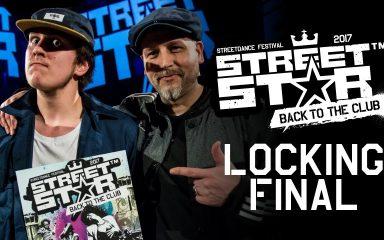 ロッキングバトルもストレート決着!STREETSTAR 2017