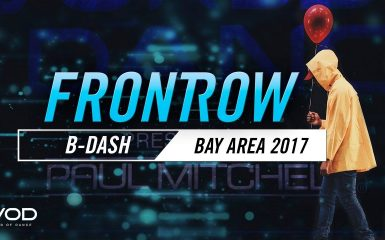 B-Dashの変則クランプ!World of Dance Bay Area 2017