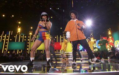 Bruno Marsのダンスがカッコ良すぎ!第60回グラミー賞