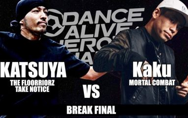 Break'nを制したのはKaku!DANCE ALIVE HERO'S 2018