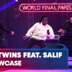 Les Twins & Salif Gueye の ショーケース!Paris 2019